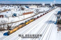 UP 5980 | GE C44ACCTE | NS Memphis District West End