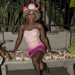 Honey Pink Cowgirl Outfit -344