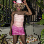 Honey Pink Cowgirl Outfit -318