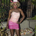 Honey Pink Cowgirl Outfit -310