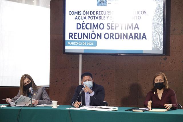 03/03/2021 Comisión De Recursos Hidráulicos, Agua Potable Y Saneamiento