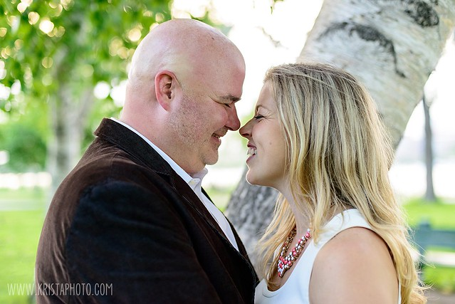 Photo:Joanna & Tom's Engagement Session By kristaguenin