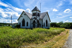 Abandoned Church in jack County, Texas