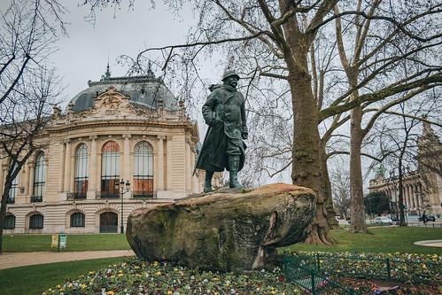 Statue de Georges Clémenceau