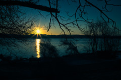 Sunrise at Tide Lock Park
