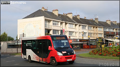 Vehixel Cytios Advance (Irisbus Daily) – Autocars Delcourt / Tusa (Transports Urbains Saint-Lô Agglo) ex Transdev Saint-Lô n°9307