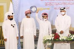 تتويج الفائزين بأشواط السباق التراثي بمهرجان سمو الأمير المفدى 27-3-2021