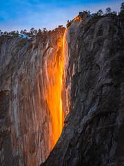 Epic Firefalls! Yosemite Firefall Yosemite National Park Horsetail Falls Yosemite Valley Fire Falls Sunset!  Fuji GFX100 California Fine Art Landscape Photography! McGucken Medium Format Fujifilm GFX 100 & Fujinon FUJIFILM GF 250mm f/4 R LM OIS WR Lens