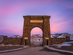 Roosevelt Arch Yellowstone National Park Winter Fuji GFX100 Utah Fine Art Landscape Photography! Gardiner Gateway to Yellowstone! Master Medium Format Fine Art Photographer! Fujifilm GFX 100 & FUJINON Fujifilm GF 45-100mm F4 OIS Mid Range Zoom Lens!