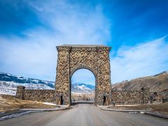 Roosevelt Arch Yellowstone National Park Winter Fuji GFX100 Fine Art Landscape Photography! Gardiner Gateway to Yellowstone! Master Medium Format Fine Art Photographer! Fujifilm GFX 100 & FUJINON Fujifilm GF 45-100mm F4 OIS Mid Range Zoom Lens!