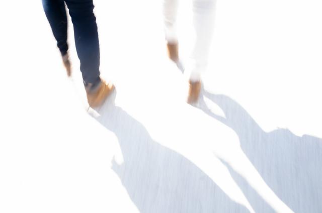Une marche pour des amoureux
