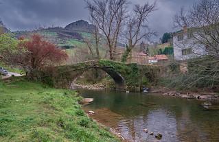 Puente romano de Rubalcaba, Cantabria.