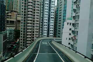 Hill Road Flyover, Sai Wan, Hongkong - Jan' 2018