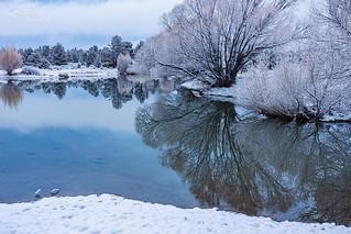 Winter Morning Reflection II
