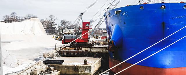 Red Crane Dockside