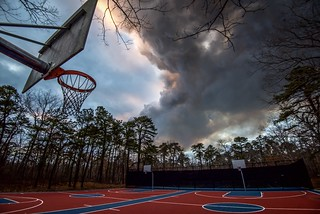 hoops and controlled burn