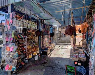City life. La Paz, MX