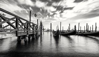 A pier for gondolas