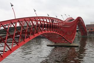 Amsterdam modern bridge (python)