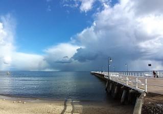 The pier in Gdynia Orłowo 🌞💙
