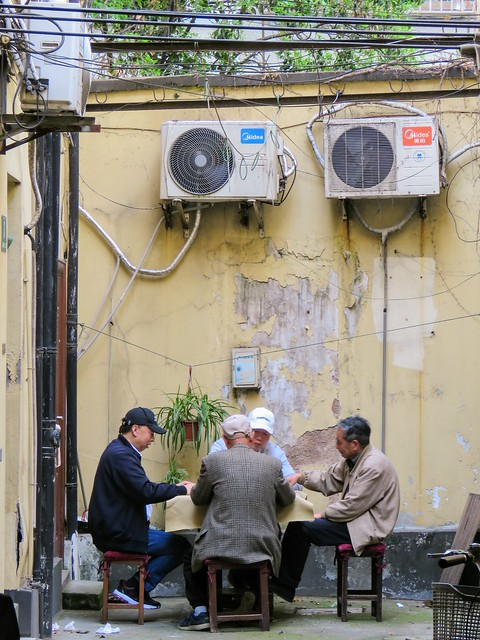 The mahjong deep in the alley: an afternoon for city ordinary residents