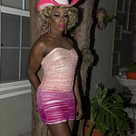Honey Pink Cowgirl Outfit -405