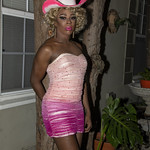 Honey Pink Cowgirl Outfit -403