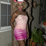 Honey Pink Cowgirl Outfit -402