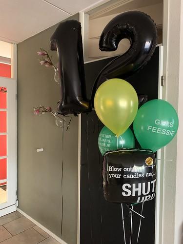 Ballonboeket Verjaardag 12 Jaar Rotterdam Ballonnen