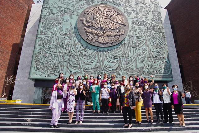 08/03/2021 Diputadas Morena Pronunciamiento Día De La Mujer
