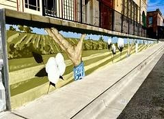 Mural in Pilot Point, Texas