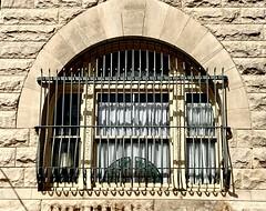 Bank Window, Pilot Point, Texas