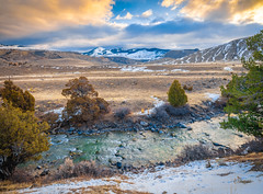 Yellowstone Sunrise Red Orange Yellow Clouds Yellowstone National Park Winter Fuji GFX100 Fine Art Landscape Photography! Master Medium Format Fine Art Photographer! Fujifilm GFX 100 & FUJINON Fujifilm GF 23mm F4 Wide Angle Lens!