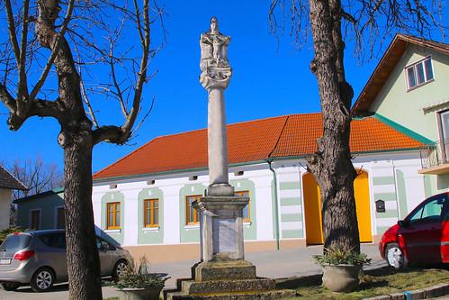 Deinzendorf. Gnadenstuhl, 1884 - Neubarock