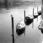 Four little boats  (Retina IIIC / Acros)
