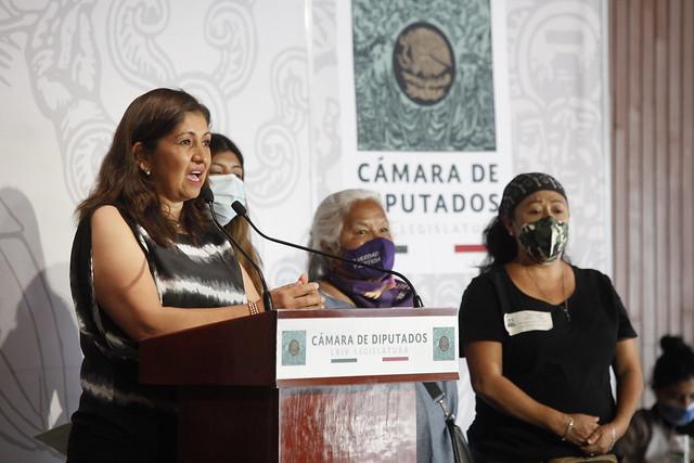 09/03/2021 Conferencia Diputada Wendy Briseño- Víctimas De Feminicidio
