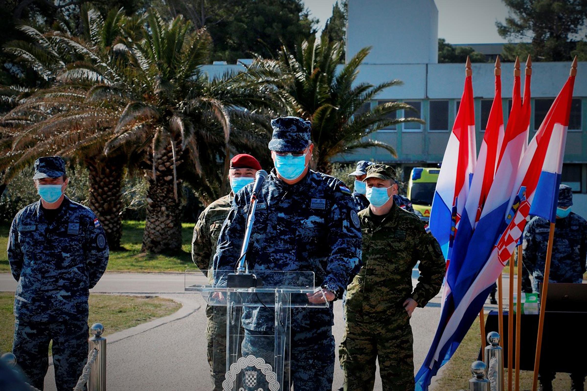Četvrti HRVCON ispraćen u NATO-ovu operaciju