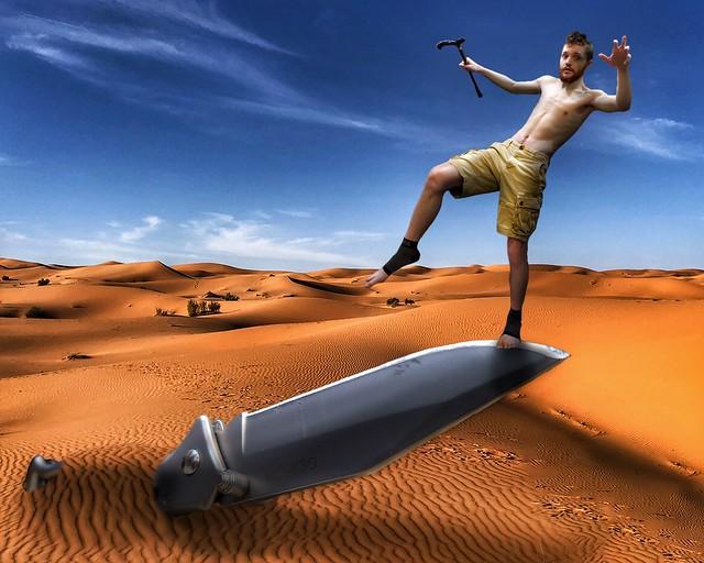 Photo:On a Knife's Edge By Chronic Joy Ministry