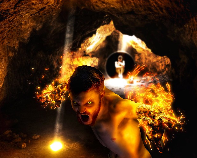Photo:The Indiscriminate Inferno By Chronic Joy Ministry