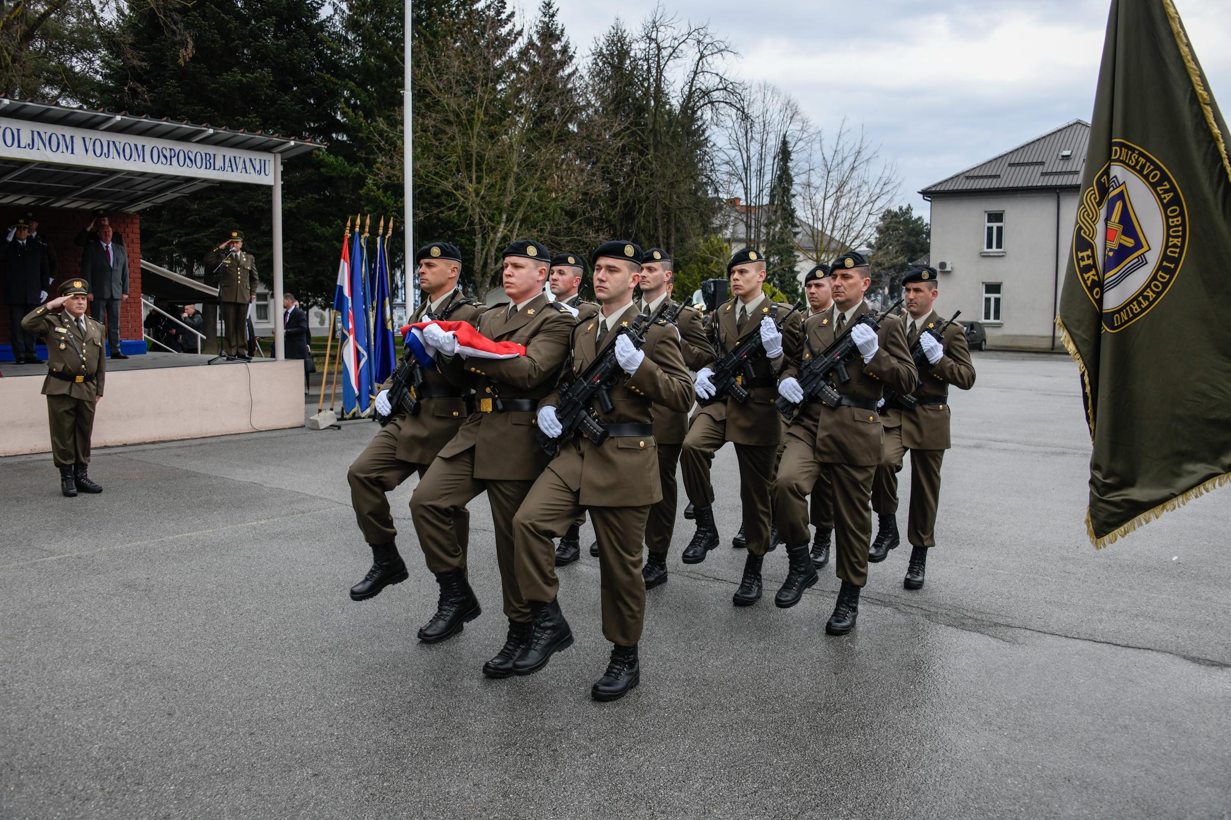 Svečana prisega ročnika na dragovoljnom vojnom osposobljavanju