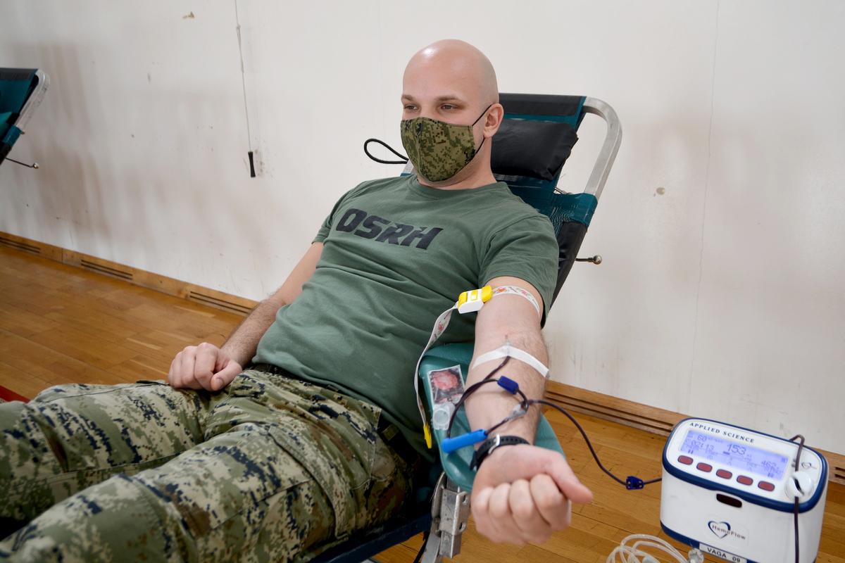 Dobrovoljno darivanje krvi na HVU