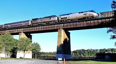 Amtrak 'Crescent' @ Springfield VA (2016)