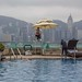 Pool on the roof of the Harbour Grand Kowloon HK