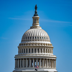 The United States Capitol dome