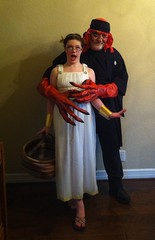 Will and Andrea on Halloween 2015