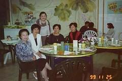 1999-11-25 寶眷參觀交大 校長夫人接待