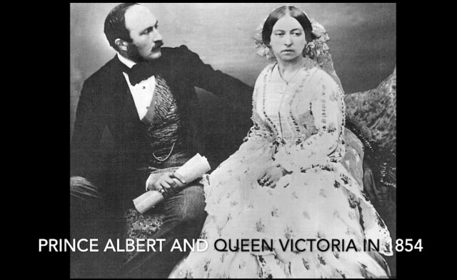 Photo:171x. HLJ2 1854 Prince Albert and Queen Victoria By Jim Surkamp