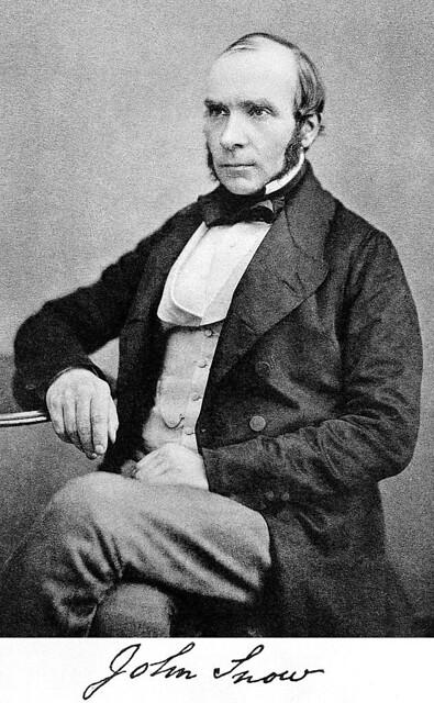Photo:167x. HLJ2 Dr. John Snow (1813-1858), British physician By Jim Surkamp
