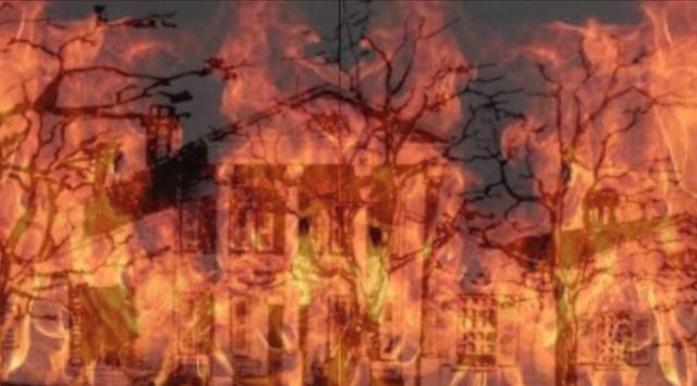 Photo:364. HLJ2 The Burning of Bedford By Jim Surkamp