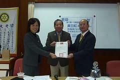 2010-04-28月末檢討及行政會議 歡迎第一分區助理總監黃日紅